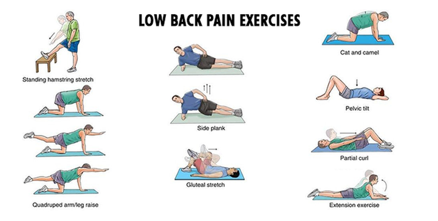 3 sciatica exercises for pain management health guide reviews lower back pain exercises sciox Images