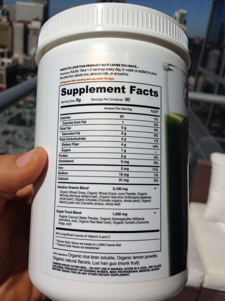 organifi-ingredients