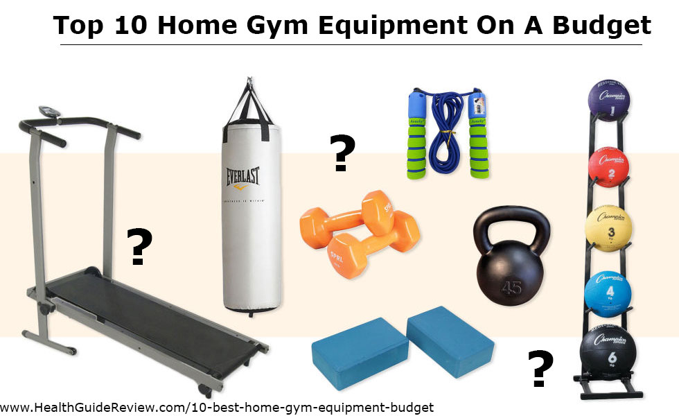 10 Best Home Gym Equipment On A Budget • Health Guide Reviews